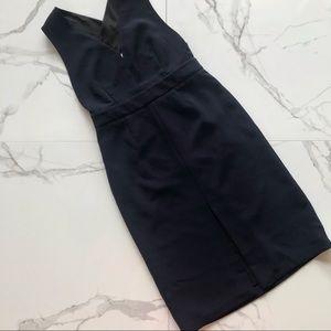Babaton cross back dress